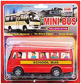 Mini Bus CT 102 3 Years+, Safe non toxic pull back and go toy for lo...