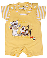 Child World - Half Sleeves T Shirt With Romper
