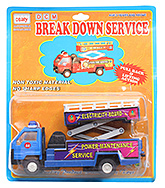 DCM Break Down Service Truck CT 077 3 Years+, Safe non toxic pull back and go toy for lo...