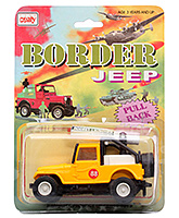 Border Jeep CT 024 3 Years+, Safe non toxic pull back and go toy for lo...