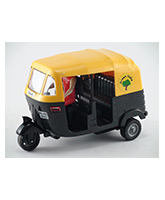 CNG Auto Rickshaw CT 056 3 Years+, Safe non toxic pull back and go toy for lo...