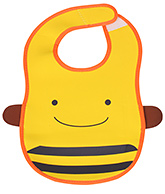 Bright Yellow Baby Bib