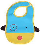 Yellow Face Baby Bib