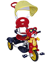 BSA Toddler Red Perky Tricycle with Canopy - Red