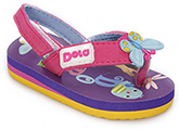 Dora - Colourful Flip Flop With Back Strap