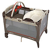 Graco Pack 'N Play Forecaster Grey
