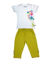 Short Sleeves Top With Leggings Set 0 - 3 Months, Stylish and trendy top and leggings se...