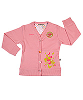 Buy Buzzy - Full Sleeves Pink Girls Jacket