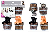 Wall Paper &amp; Sticker - Home Decor Line - Little Cats