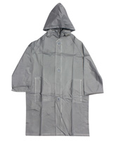 Buy Minister - Plain Silver Raincoat
