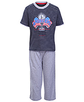 Doreme - Striped Boys Night Suit