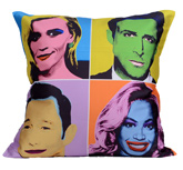 meSleep Digitally Printed Hollywood Cushion Cover Set
