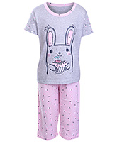 Doreme - Half Sleeves Girls Night Suit