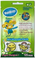 Runbugz - Smiley Design Anti Mosquito Patches