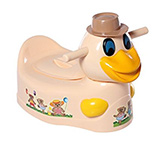 Toyzone Duck Potty Chair Smooth Edge, Pampers Your Baby's Skin