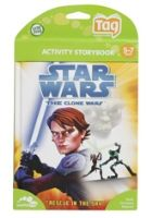 Buy Leap Frog - Activity Storybook - Star Wars The Clone Wars - Rescue In The Sky