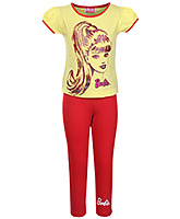 Barbie - Girl's Night Wear Doll Print