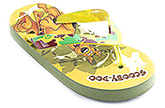Scooby Doo - Colourful Printed Flip Flop