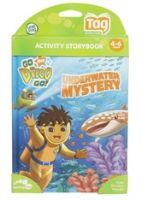 Buy Leap Frog - Activity Storybook - Go Nick Jr Diego Go Underwater Mystery