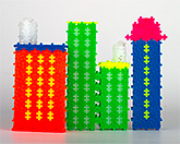 Plus Plus -  Neon Building Blocks 300 Pack Mini