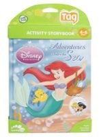 Leap Frog - Activity Storybook Disney Princess Adventures Under The Sea