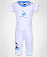 Baby Hug - Short Sleeves Boys Night Suit