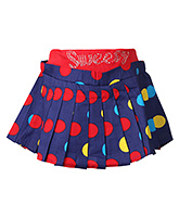 SAPS - Polka Dotted Skirt With Pleats