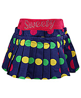 SAPS - Pleated Skirt With Polka Dots