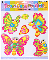 Fab N Funky -  Decorative Butterfly Stickers - 30.5 X 30.5 Cm