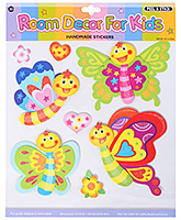 Fab N Funky - Decorative Butterfly Sticker - 30.5 X 30.5 Cm