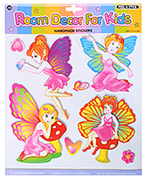 Fab N Funky - Decorative Fairies Stickers - 30.5 X 30.5 Cm