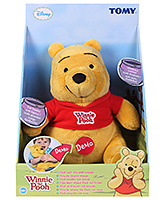 Disney - Pooh Soft Toy With Sound - 0 Months+