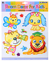 Fab N Funky - Animals Design Decorative Sticker - 30.5 X 30.5 Cm