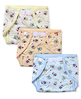 Buy Tinycare Printed Waterproof Nappy Large - Set of 3