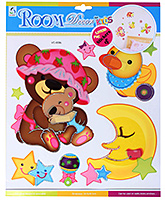 Fab N Funky - Cartoon Sticker - 30.5 X 30.5 Cm