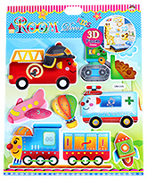 Fab N Funky - Vehicle Print Decorative Sticker - 30.5 X 30.5 Cm