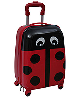 Trolley Bag Lady Bug Print With Push Handle 22 x 30 x 45 cm, Designer and Spacious trolley bag w...