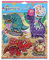Fab N Funky Crocodile Print Decorative Sticker - 30.5 X 30.5 Cm