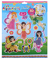 Fab N Funky - Beautiful Fairies Sticker - 30.5 X 30.5 Cm