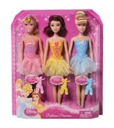 Barbie Ballerina Princesses 3 Years +, Ballerina Princess Dolls