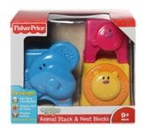 Fisher-Price - Growing Baby - Animal Sta... 9 Months+, Colorful, stackable, nesting animals for ...