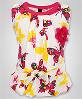 SAPS - Butterfly Printed Sleeveless Top