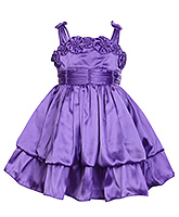 Buy Babyhug - Singlet Party Dress With Pearls