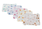 Tinycare -  Square Baby Nappy Set Of 5