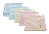 Tinycare Colored Square Baby Nappy Large - Set of 5