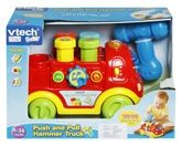 Pull Along Toys - Vtech Push and Pull Hammer Truck