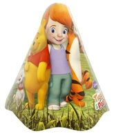 Winnie The Pooh Cone Hat - Set of 8