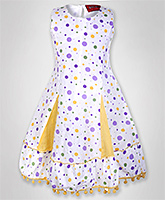 Little Pixies - Sleeveless Polka Dotted Frock
