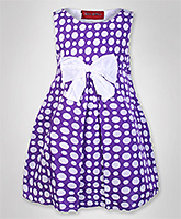Little Pixies - Polka Dotted Bow Frock