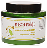 Richfeel Cucumber Massage Cream